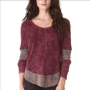 Free People Tops - Free People Waffle Thermal